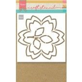 Marianne D Craft Stencil bloesem PS8054 149x149mm (02-20)