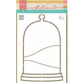 Marianne D Craft Stencil Stolp by Marleen PS8074 21 x 15 cm (10-20)