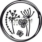 Marianne D Craftable Doodle cirkel CR1468 85.5x85.5 mm (05-19)*
