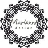 Marianne D Craftable Floral Doily CR1470 110 mm (05-19)