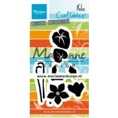 Marianne D Craftable Marleen Cyclamen CR1479 91.5x58 mm (09-19)