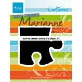 Marianne D Craftable Puzzelstuk CR1491 83x73.5 mm (01-20)*