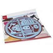 Marianne Design - Creatables Circle Lay-Out LR0677 170x200 mm (09-20)