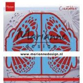 Marianne Design - Creatables folding die hek vlinder LR0638 73x135 mm (01-20)