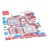 Marianne Design - Creatables Strandhuisjes set LR0662 110 x 160 mm (06-20)