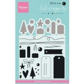 Marianne D Stempel Giftwrapping Tags & Draad (KJ1716) (20% KORTING)*