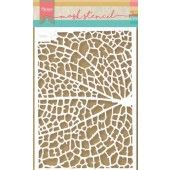 Marianne D Stencil Tiny's Leaf Grain PS8041 149x210 mm (09-19)*
