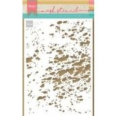 Marianne D Stencil Tiny's plons-splash PS8033 149x149 mm (05-19)*