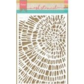 Marianne D Stencil Tiny's Sliced Wood PS8040 149x210 mm (09-19)*