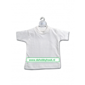 Bedrukt Minishirt - Wit (BT002)