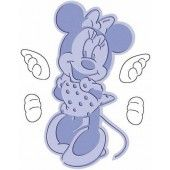 Cuttlebug Cut & Embos comboset: Minnie Mouse Classic
