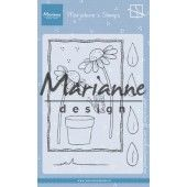 Marianne D Clear Stamps Marjoleine's daisies MZ1903 105x148mm (07-19)*