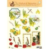 3D knipvel - Studio Light - Natural Seasons 50