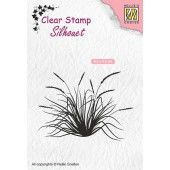Nellies Choice Clearstempel - Silhouette bloeiend gras-2 - 62x45mm (03-19) (SIL057)*