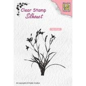 Nellies Choice Clearstempel - Silhouette kruiden - 56x60mm (03-19) (SIL055)*