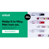 Cricut Iron-on box 'Make it in May' (8001620) Levering uit Voorraad!