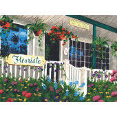 Painting by numbers FLOWER SHOPPE