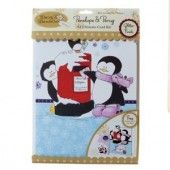 a4 decoupage card kit - penelope & percy (from me to you)