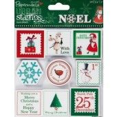 Clearstamp - Urban Rubber Stamps - Papermania - Kerst - PMA907905