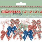 Large ribbon bows - Christmas in the country
