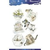 Clearstamp - Precious Marieke  - Winter Wonderland