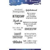 Clearstamp - Precious Marieke - Winter Wonderland - Tekst