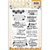Clearstamp - Textstamp - Precious Marieke - Early Spring
