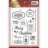 Clearstamp - Precious Marieke - Merry and Bright Christmas - ENG