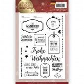 Clearstamp - Precious Marieke - Merry and Bright Christmas - Duits