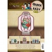 3D Push out - Quick and Easy 14 - Amy Design Oriental