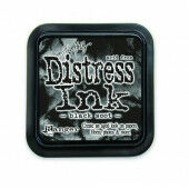 Ranger Distress Inks pad - black soot - stamp pad - Tim Holtz (TIM19541)