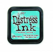 Ranger Distress Inks pad - broken china - stamp pad - Tim Holtz (TIM21414)