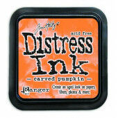 Ranger Distress Inks pad - carved pumpkin - stamp pad - Tim Holtz (TIM43201)