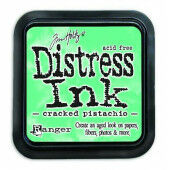 Ranger Distress Inks pad - cracked pistachio - stamp pad - Tim Holtz (TIM43218)