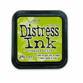 Ranger Distress Inks pad - crushed olive - stamp pad - Tim Holtz (TIM27126)