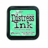 Ranger Distress Inks pad - evergreen bough - stamp pad - Tim Holtz (TIM32854)