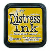 Ranger Distress Inks pad - fossilized amber - stamp pad - Tim Holtz (TIM43225)