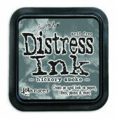 Ranger Distress Inks pad - hickory smoke - stamp pad - Tim Holtz (TIM43232)