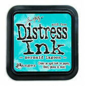 Ranger Distress Inks pad - mermaid lagoon - stamp pad - Tim Holtz (TIM43256)
