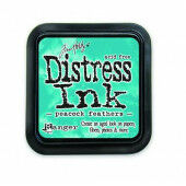 Ranger Distress Inks pad - peacock feathers - stamp pad - Tim Holtz (TIM34933)