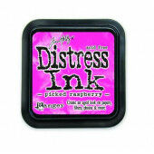 Ranger Distress Inks pad - picked raspberry - stamp pad - Tim Holtz (TIM34995)