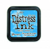 Ranger Distress Inks pad - salty ocean - stamp pad - Tim Holtz (TIM35015)