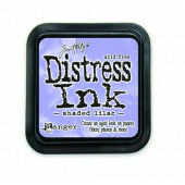 Ranger Distress Inks pad - shaded lilac - stamp pad - Tim Holtz (TIM34957)