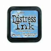 Ranger Distress Inks pad - stormy sky - stamp pad - Tim Holtz (TIM27171)