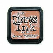Ranger Distress Inks pad - tea dye - stamp pad - Tim Holtz (TIM19510)