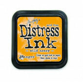Ranger Distress Inks pad - wild honey - stamp pad - Tim Holtz (TIM27201)