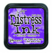 Ranger Distress Inks pad - wilted violet - stamp pad - Tim Holtz (TIM43263)
