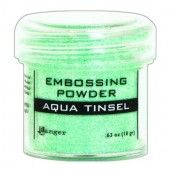 Ranger Embossing Powder 34ml -  aqua tinsel EPJ60413