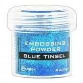 Ranger Embossing Powder 34ml - blue tinsel EPJ41030