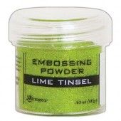 Ranger Embossing Powder 34ml -  Lime Tinsel EPJ64541
